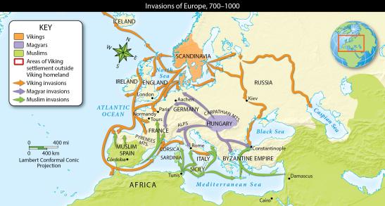 Invasions of Europe 700-1000-01